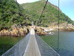 Storms River Mouth Bridge